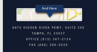 8875 Hidden River Parkway, Suite 300 Tampa, FL 33637